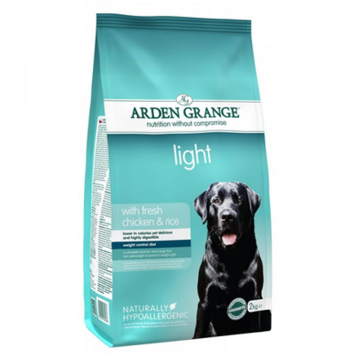 Корм для собак Arden Grange Dog Adult Light With Fresh Chicken & Rice 12 кг