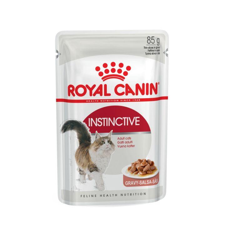 Влажный корм для котов Royal Canin Instinctive Sauce 85 г