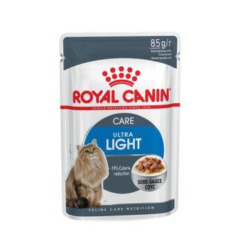 Влажный корм для котов Royal Canin Ultra Light Sauce 85 г