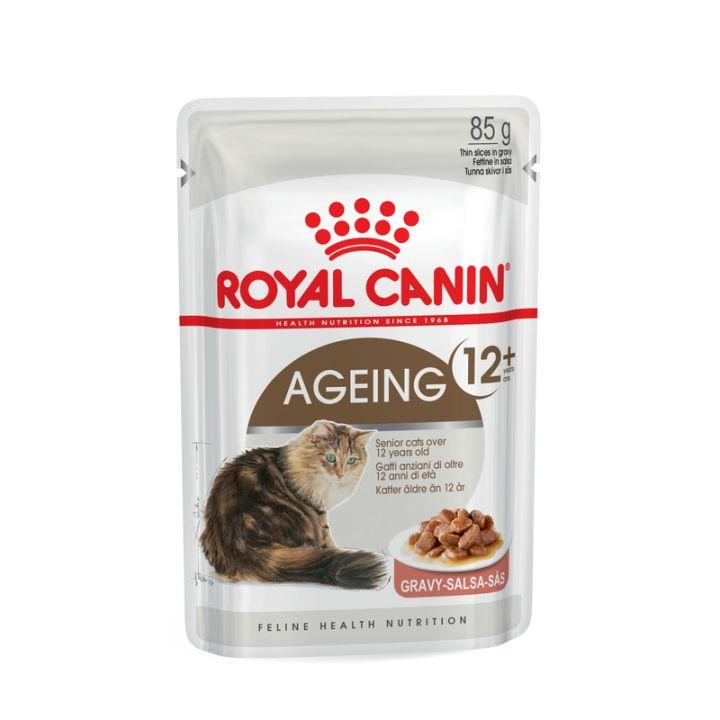 Влажный корм для котов Royal Canin Ageing 12+ Sauce 85 г