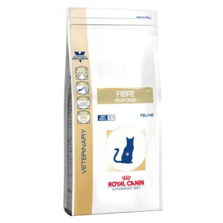 Лечебный сухой корм для котов Royal Canin Fibre Response Feline 2 кг