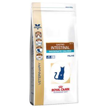 Лечебный сухой корм для котов Royal Canin Gastro Intestinal Moderate Calorie Feline 0,4 кг