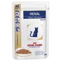 Лечебный влажный корм для котов Royal Canin Renal With Chicken Feline 85 г
