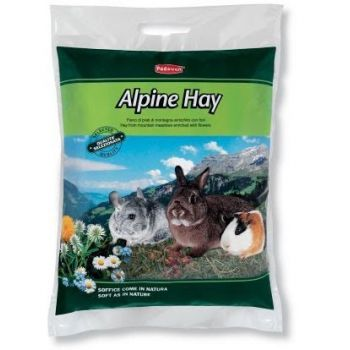 Альпийское сено для кроликов, морских свинок, шиншилл Padovan Alpine Hay 700 г