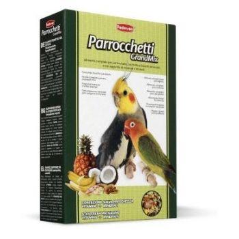 Корм для средних попугаев (неразлучники, кореллы) Padovan GrandMix Parrocchetti 850 г