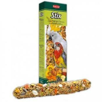 Корм для средних и крупных попугаев Padovan Stix Grandi Parrocchetti / Pappagalli 150 г