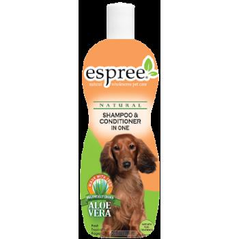 Шампунь-кондиционер для собак Espree Shampoo & Conditioner in One 591 мл
