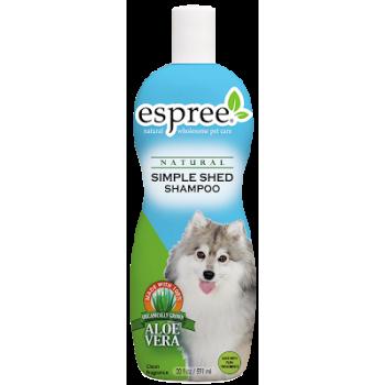 Шампунь для собак и котов Espree Simple Shed Shampoo 3,79 л