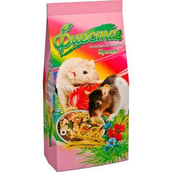 Корм для декоративных крыс Природа Фиеста Крыска 650 г