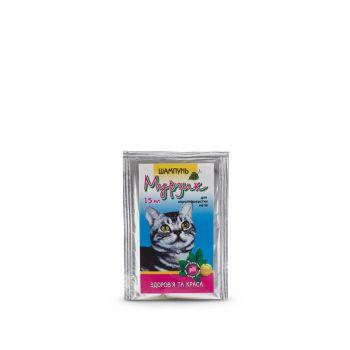Шампунь для кошек от блох и клещей Природа Мурзик 15 мл