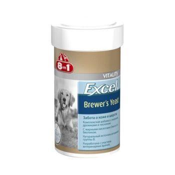 Пивные дрожжи 8in1 Excel «Brewers Yeast» 140 таблеток (для кожи и шерсти) - dgs
