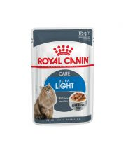 Акция 8+4! Влажный корм для кошек Royal Canin Ultra Light Sauce 85 г х 12 шт