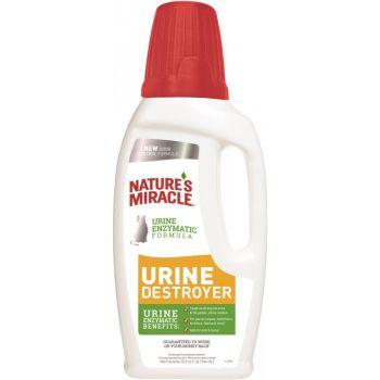 Уничтожитель запаха мочи кошек 8in1 Natures Miracle Urine Destroyer 946 мл