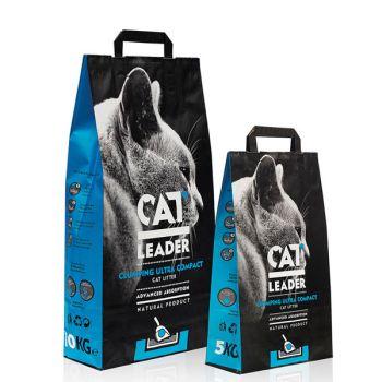 Ультра-комкующийся наполнитель для кошачьего туалета Cat Leader Clumping Ultra Compact 5 кг