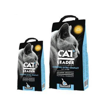 Ультра-комкующийся наполнитель для кошачьего туалета Cat Leader Clumping Ultra Compact Wild Nature Aroma 5 кг