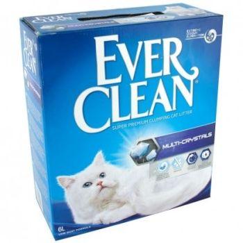 Комкующийся наполнитель для кошачьего туалета Ever Clean Multi-Crystals 6 л