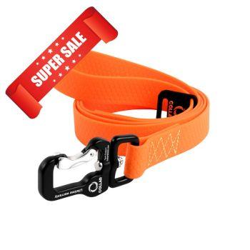 Поводок для собак Collar Evolutor, длина 120 см, ширина 25 мм, оранжевый