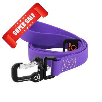 Поводок для собак Collar Evolutor, длина 120 см, ширина 25 мм, фиолетовый