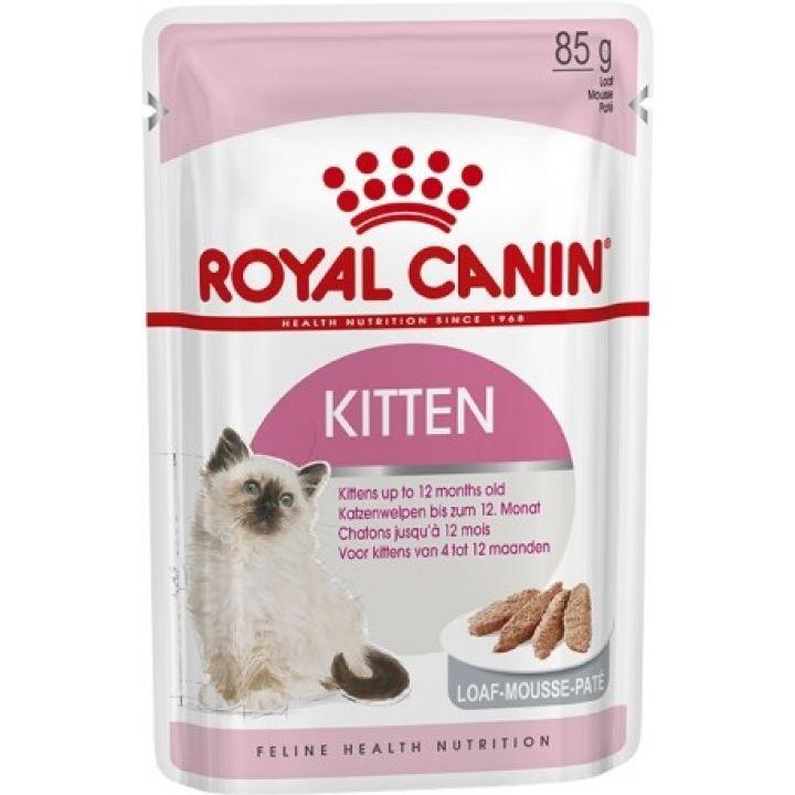 Влажный корм для котят Royal Canin Kitten Loaf 85 г