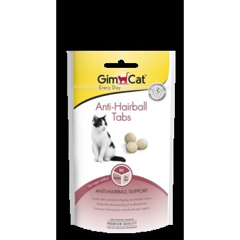 Таблетки для выведения шерсти из желудка кошек GimCat Anti-Hairball Tabs 40 г