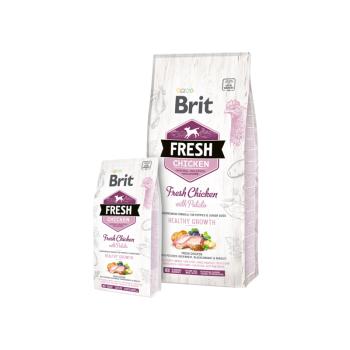 Сухой корм для щенков Brit Fresh Chicken with Potato Puppy Healthy Growth 2,5 кг