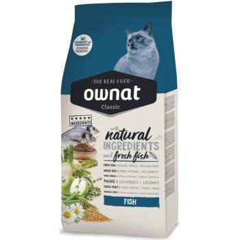 Сухой корм для кошек Ownat Classic Fish 4 кг