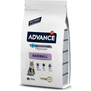Сухой корм для кошек Advance Hairball 1,5 кг