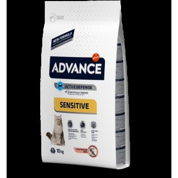 Сухой корм для кошек Advance Sensitive 1,5 кг