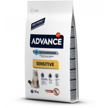 Сухой корм для кошек Advance Sensitive 3 кг