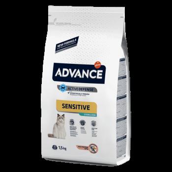 Сухой корм для кошек Advance Sterilized Sensitive 3 кг