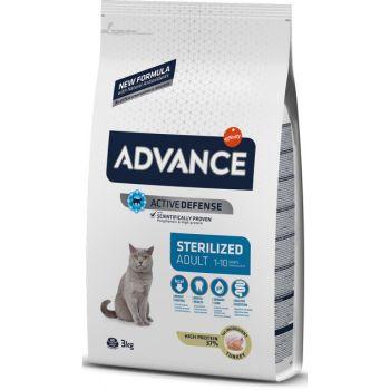 Сухой корм для кошек Advance Sterilized Adult 3 кг