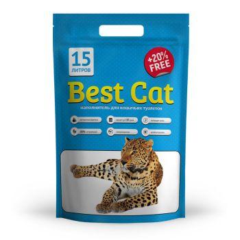 Силикагелевый наполнитель для кошачьего туалета Best Cat Blue 15 л