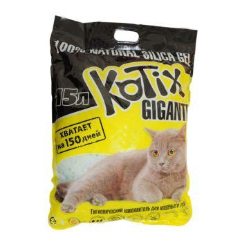 Силикагелевый наполнитель для кошачьего туалета Kotix 7,6 л