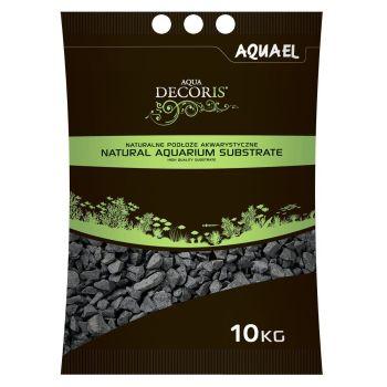 Грунт для аквариума Aquael, базальтовый гравий 10 кг (2-4 мм)