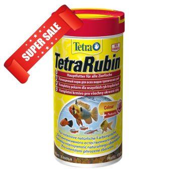 Сухой корм для аквариумных рыб в хлопьях Tetra TetraRubin 1 л