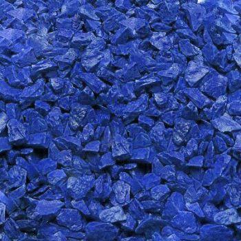 Грунт для аквариума Zeta Синий 1 кг (5-10 мм)