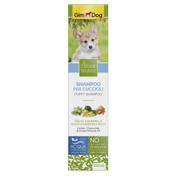 Шампунь для щенков GimDog Natural Solution «linden, Camomile & Sweet Almond Oil» (липа, ромашка и сладкое миндальное масло) 250 мл
