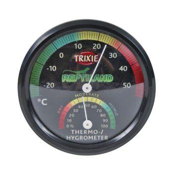 Термометр-гигрометр для террариума Trixie механический, с наклейкой d=7,5 см