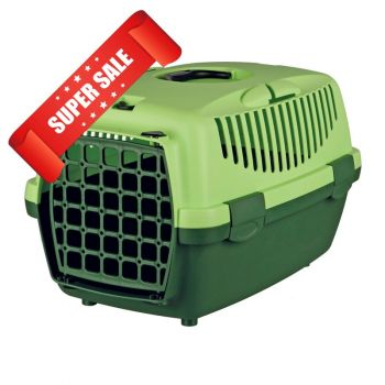 Переноска для кошек и собак Trixie Capri 1, 32x31x48 см, зеленая