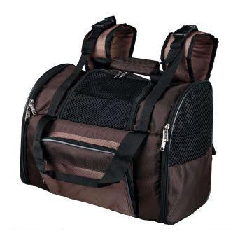 Рюкзак-переноска Trixie «Shiva» 41 x 30 x 21 см (коричневая) - dgs
