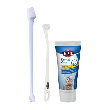 Набор для гигиены полости рта кошек Trixie