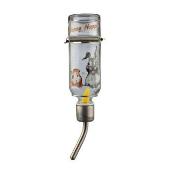 Поилка для грызунов Trixie «Honey & Hopper» 125 мл (стекло)
