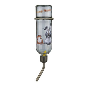Поилка для грызунов Trixie «Honey & Hopper» 500 мл (стекло)