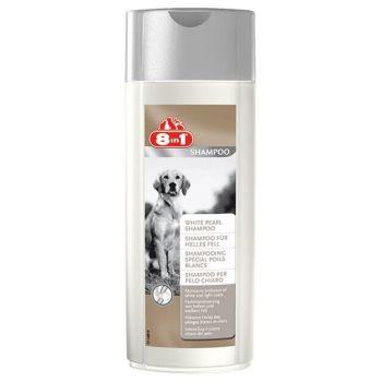 Шампунь для собак 8in1 250 мл (для белой шерсти)