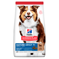 Сухой корм для собак Hill's Science Plan Canine Mature Adult 7+ Medium Lamb & Rice 2,5 кг