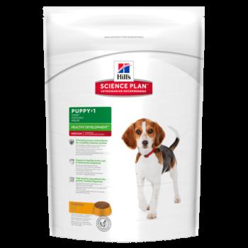 Сухой корм для собак Hill's Science Plan Canine Puppy Healthy Development Medium Chicken 2,5 кг
