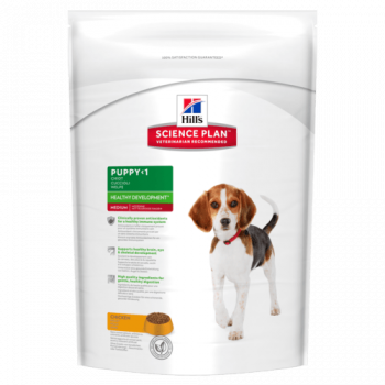 Сухой корм для собак Hill's Science Plan Canine Puppy Healthy Development Medium Chicken 14 кг