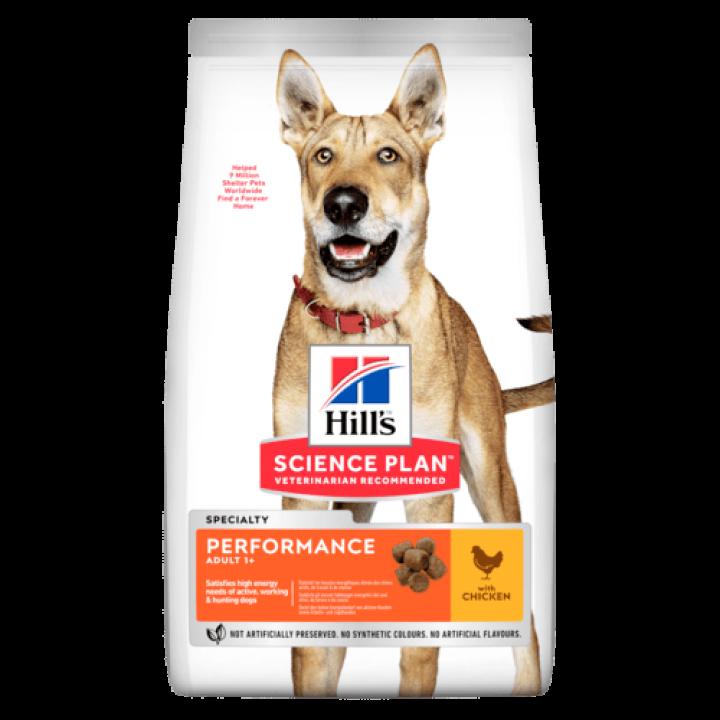 Сухой корм для собак Hill's Science Plan Canine Adult Performance Chicken 14 кг
