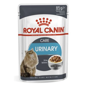 Акция 8+4! Влажный корм для кошек Royal Canin Urinary Care Sauce 85 г х 12 шт