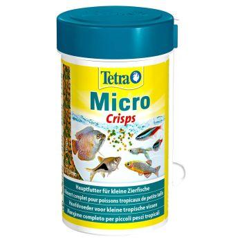 Сухой корм для мелких аквариумных рыб Tetra в чипсах «Micro Crisps» 100 мл (для всех аквариумных рыб)